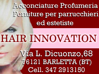 Hair Innovation - Via L.Dicuonzo,68 - Barletta | Barlettacalcio.it